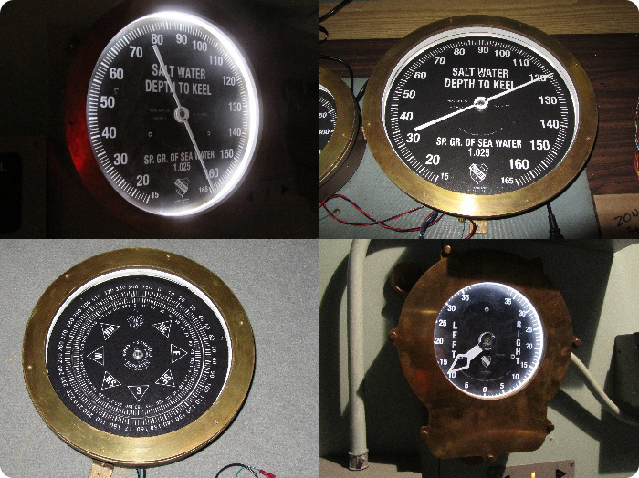 interactive meters and gauges