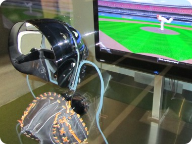 baseball catcher simulator