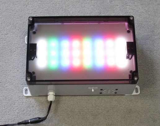 grocery scanner leds
