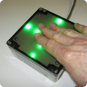 touch sensor green leds